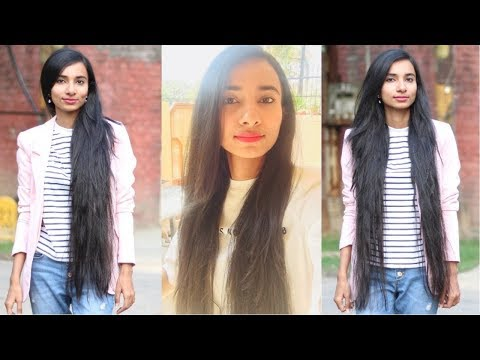 Get Long, Soft, Shiny, Silky,Thick & Healthy Hair  | My Hair Care Routine + Tips in Hindi