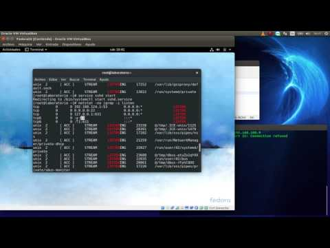 3 - Habilitar Secure Shell ssh Fedora Workstation 26