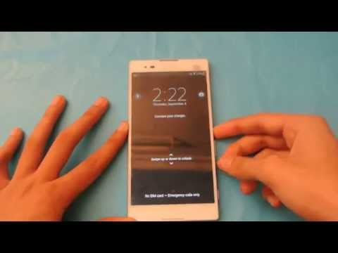 How To Change Lock Screen Wallpaper On Sony Xperia T2 Ultra