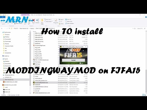 How to Install FIFA 15 MODDINGWAYMOD