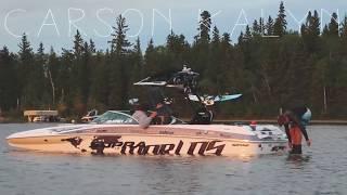 Wakeboarding Emma Lake, SK