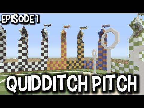 Lets Build A Quidditch Pitch Episode 1- Harry Potter Lets Build
