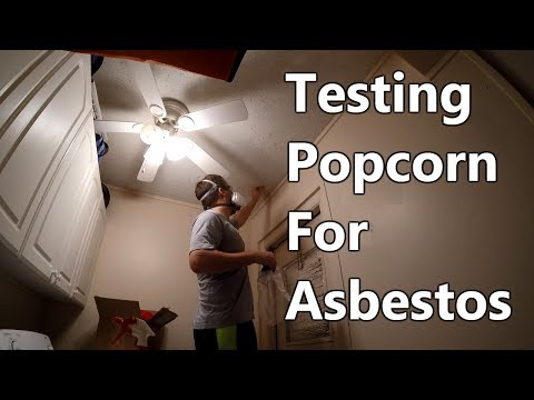How To Test Popcorn Ceiling For Asbestos