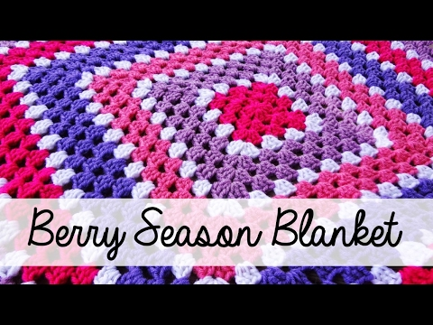 How To Crochet the Berry Season Blanket, Episode 114
