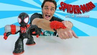 Download Spider Man Into the Spider Verse Shockstrike Miles Morles Spiderman ! || Toy Review || Konas2002 Video