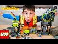 Unboxing Lego Power Miners Underground Station Pretend Play Police Intro