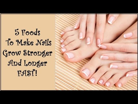 5 Foods To Make Nails Grow Stronger And Longer FAST!