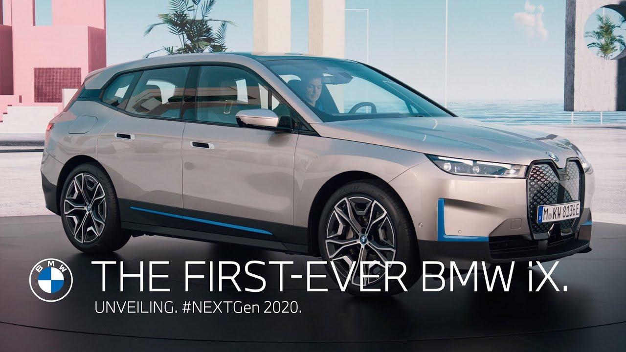 The first-ever BMW iX - Unveiling. | #NEXTGen 2020.