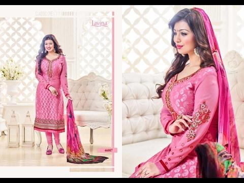 Ayesha Takia Salwar kameez 2017 || Latest Collection || Indian Dress Material || Lavina vol 46