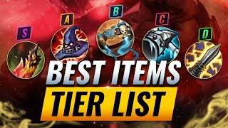 BEST Items TIER List - League of Legends Season 10