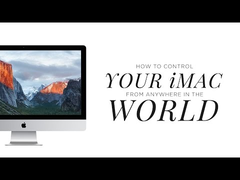 How to Remotely Control Your iMac with Your Macbook...From Anywhere In the World!