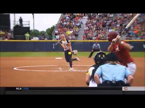 Megan Betsa throwing rise ball
