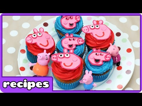 Cupcake Mania | Peppa Pig Cupcakes by Hooplakidz Recipes