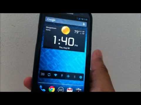 Cyanogenmod 10 nightly review for AT&T Samsung Galaxy S3