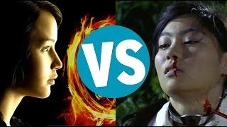 The Hunger Games vs Battle Royale