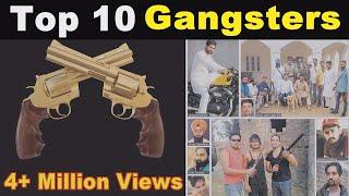 TOP 10 || GANGSTERS II IN PUNJAB || SEE THE DETAILS