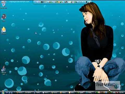 Quickly Change Desktop Icon Size in Windows Vista