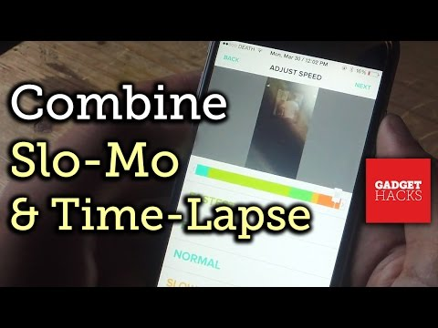Combine Slo-Mo & Time-Lapse in One Video Using Tempo for iPhone [How-To]