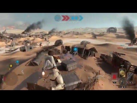 Battle of Jakku (PS4) Gameplay