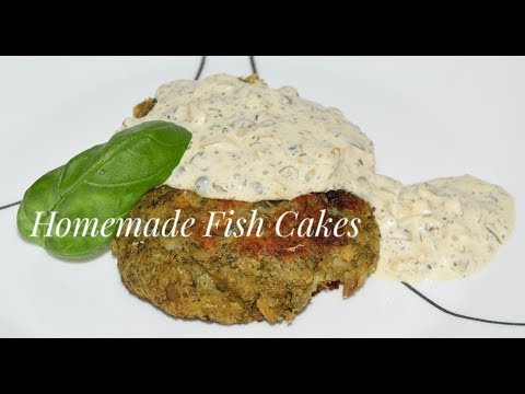 How To Make Fish Cakes - Cod Fish Patties Recipe