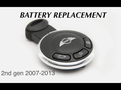 Mini Cooper key fob Battery Replacement