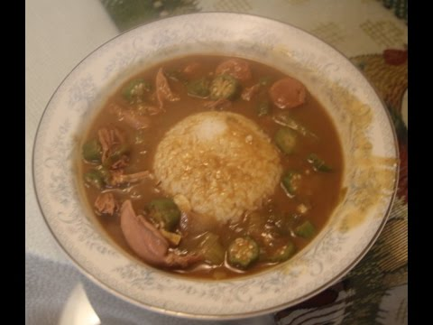 Duck Gumbo With Andouille Sausage Recipe