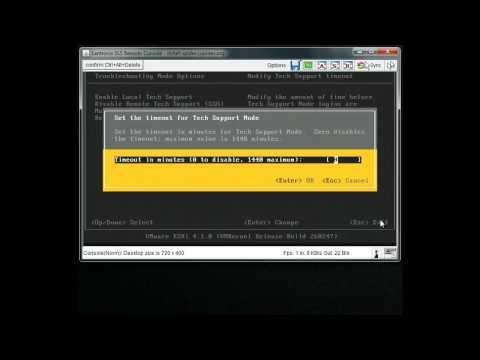 Enabling SSH on ESXi 4.1