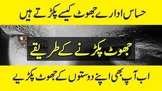 Lie Detection Techniques In Urdu - Jhoot Kesey Pakrain - Purisrar Dunya Urdu Documentaries