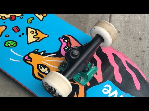 How to clean your skateboard wheels yes I mean the wheels not bearings