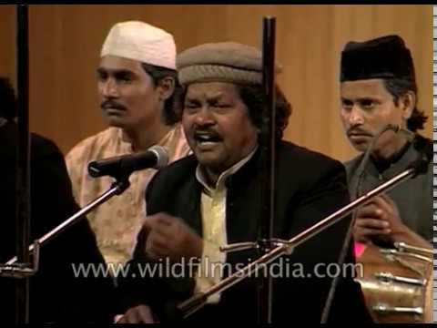 Sabri brothers perform Ghalib's Persian poetry