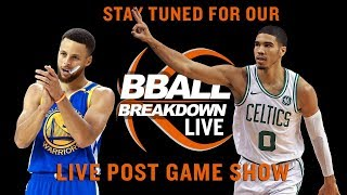 Opening Night Live Post Game Show After Thunder vs Warriors
