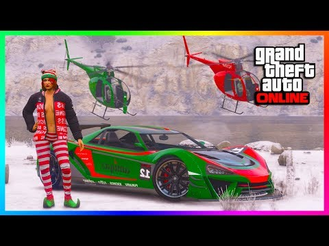 GTA Online - How To Get Snowfall EARLY in Free Mode Lobbies - Snow Weather Before Christmas DLC!