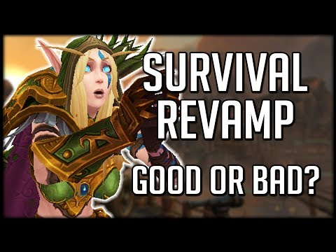 SURVIVAL HUNTER REVAMP - An Entirely New Spec! | WoW Battle for Azeroth