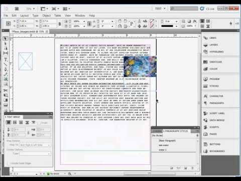 InDesign Training : How to Add Images in Adobe InDesign CS5