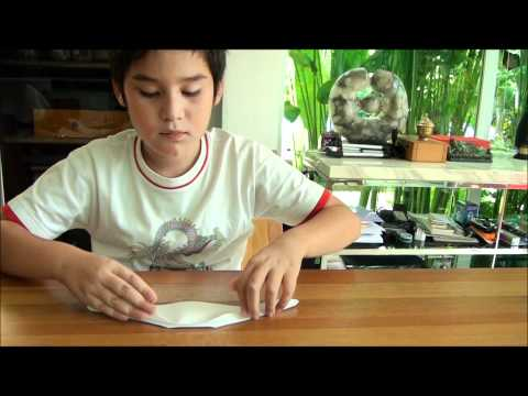 How to make a Paper long boat!