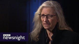 Annie Leibovitz on photographing Hillary Clinton, Donald Trump, and Harvey Weinstein – BBC Newsnight
