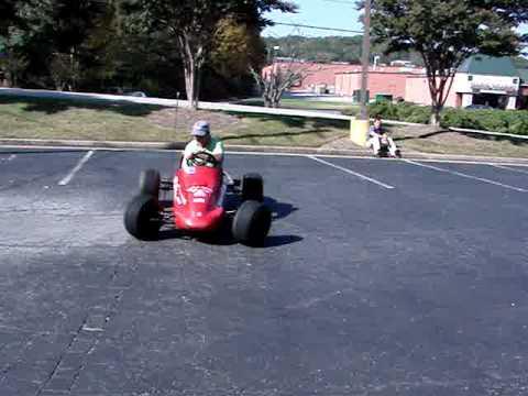 1/4 Size Indy Style Race GoCart Parade FUN CAR Go Cart!