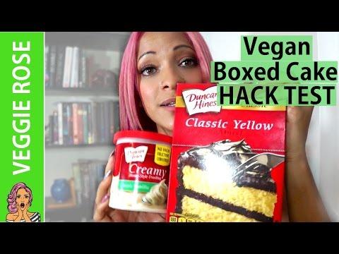 VEGAN Boxed Cake | HACK TEST
