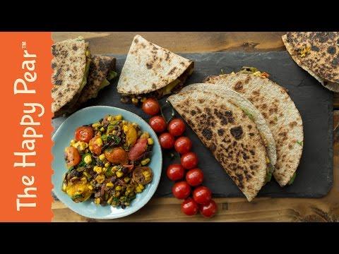 Homemade Quesadillas | Vegan Cheap Easy | THE HAPPY PEAR