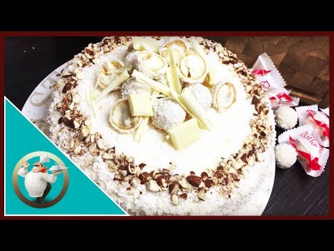 How to make Raffaello Birthday Cake | Delicious Almond Coconut Cake