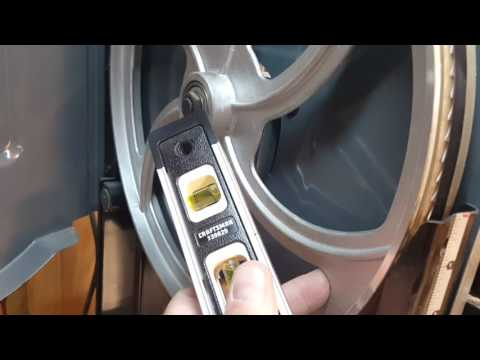 How  to adjust a band saw blade quickly and accurately.   ( works on all band saws)