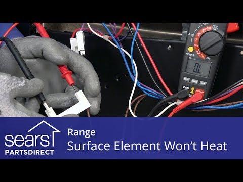 Range Radiant Surface Element Won't Heat
