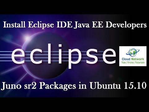 How to Install Eclipse IDE Java EE Developers for Juno sr2 Packages in Ubuntu 15.10 Desktop