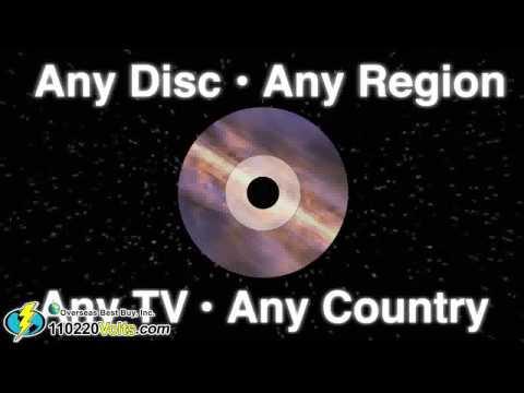 Toshiba XDE600 Region Free DVD Player