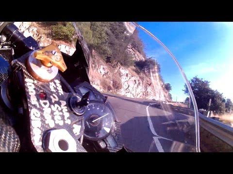 NIDYANAZO'S MOTOGP GYROCAM!   Yamaha R1 canyon gyro  Film Preview knee Elbow dragging,  driftsliding