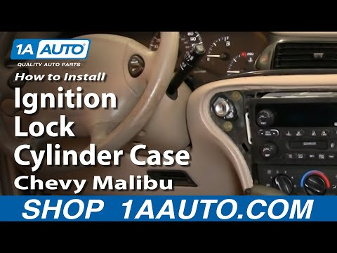 How To Install Replace Ignition Lock Cylinder Case Chevy Malibu 97-03 1AAuto.com