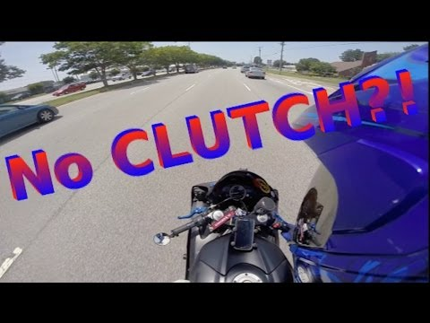 How to Shift Without a Clutch On a Motorcycle!