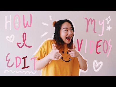 ✰ How I Edit My YouTube Videos (Handwritten Text & Doodles!) ✰
