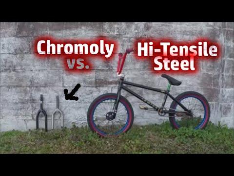 CHROMOLY vs HI-TENSILE STEEL (BMX)