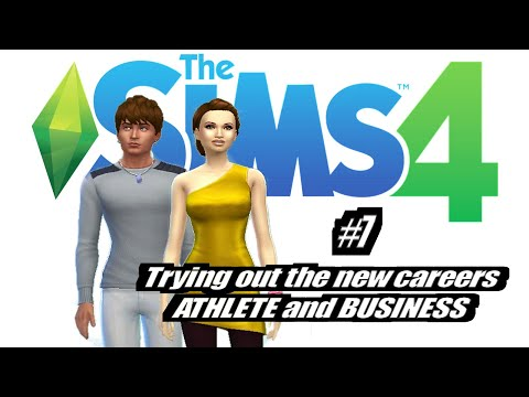 Sims 4 New Careers (Business & Athlete) EP7